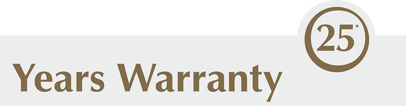 25 Year Residential Flooring Warranty