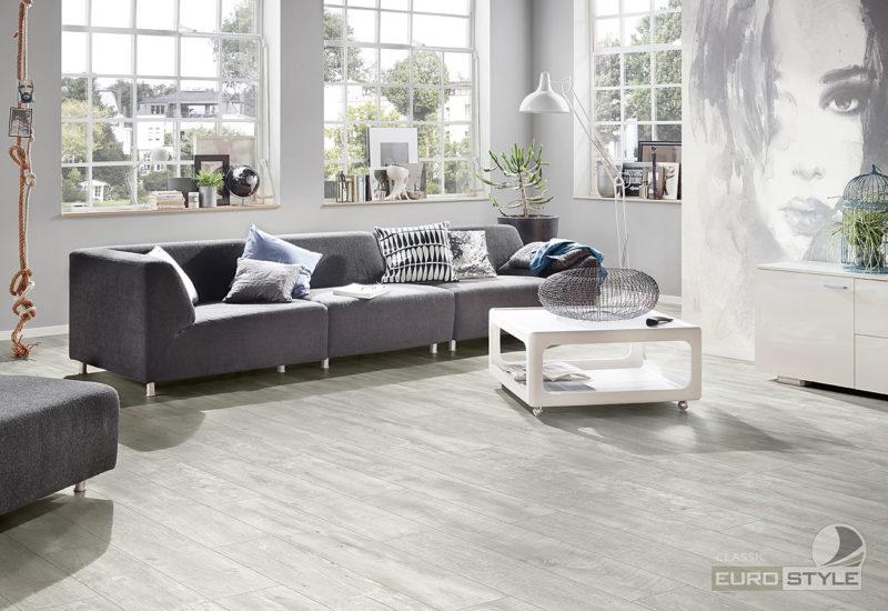 EUROSTYLE Alabaster Barnwood Classic Laminate Flooring