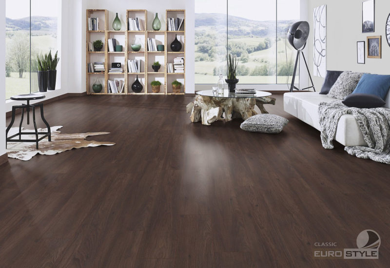 EUROSTYLE Black Oak Classic Laminate Flooring
