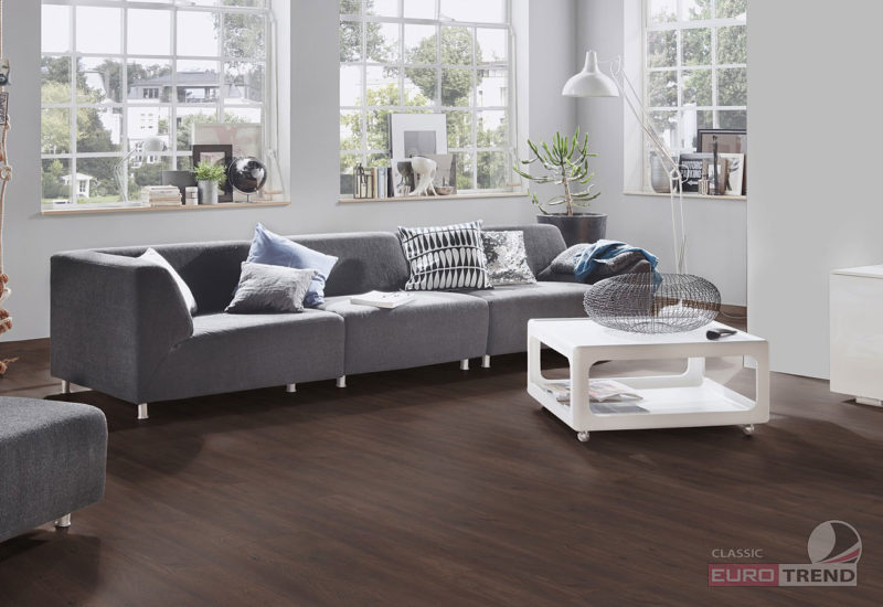 EUROTREND Black Oak Classic Laminate Flooring