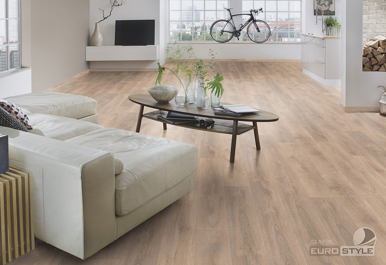 Classic Laminate Floors Blonde Oak Eurostyle Flooring