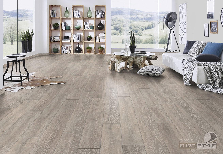Classic laminate floors boulder oak eurostyle flooring for Laminate flooring vancouver