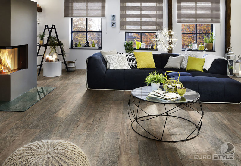 EUROSTYLE Country Barnwood Classic Laminate Flooring