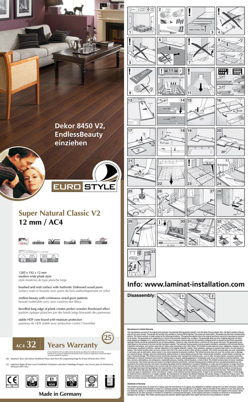 EUROSTYLE Flooring Package Inlay