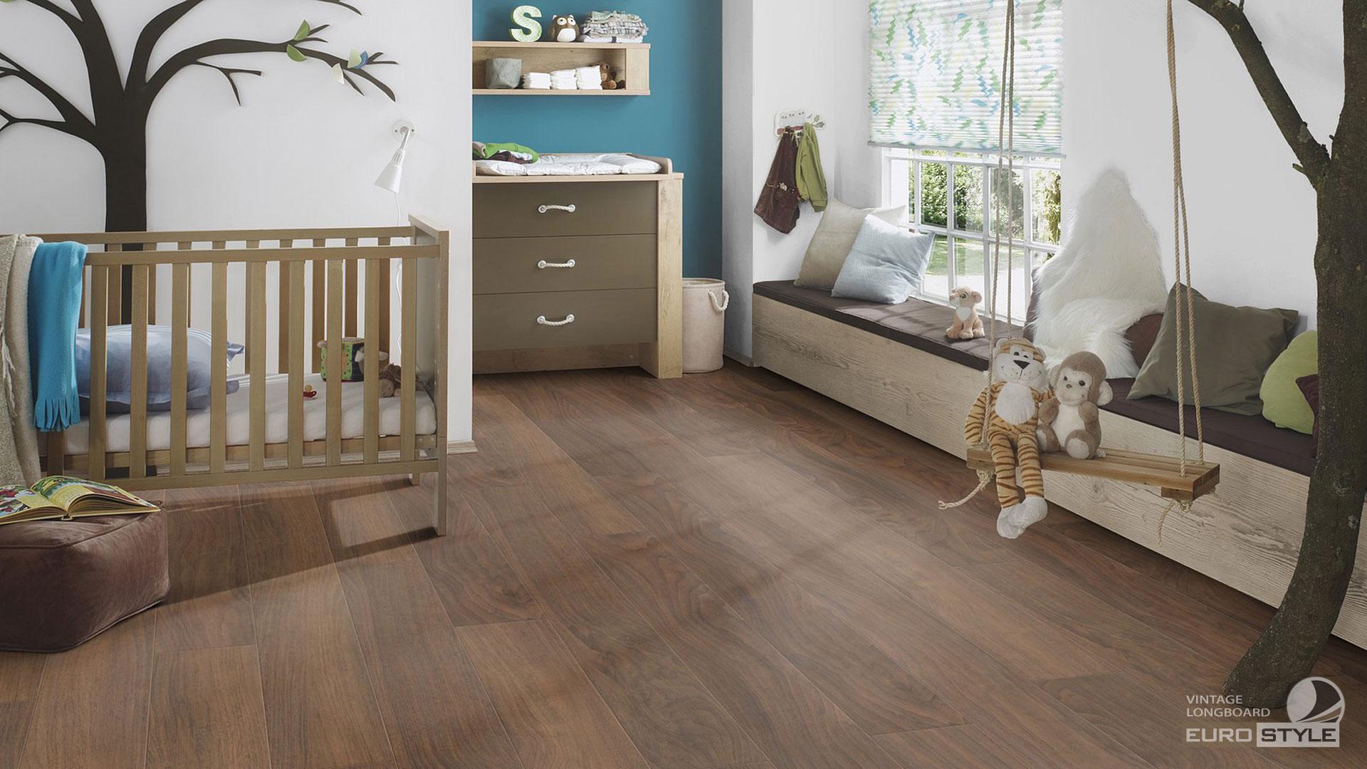 EUROSTYLE Vintage Longboard Laminate Flooring