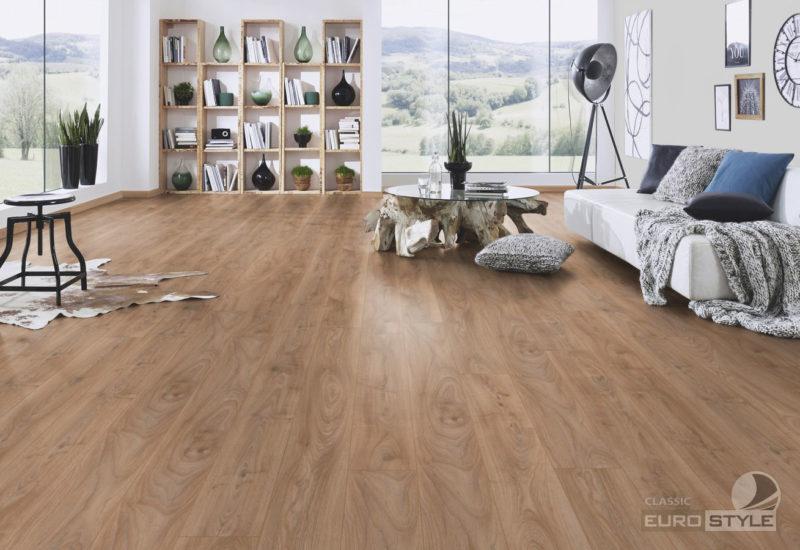 EUROSTYLE Historic Oak Vintage Longboard Laminate Flooring