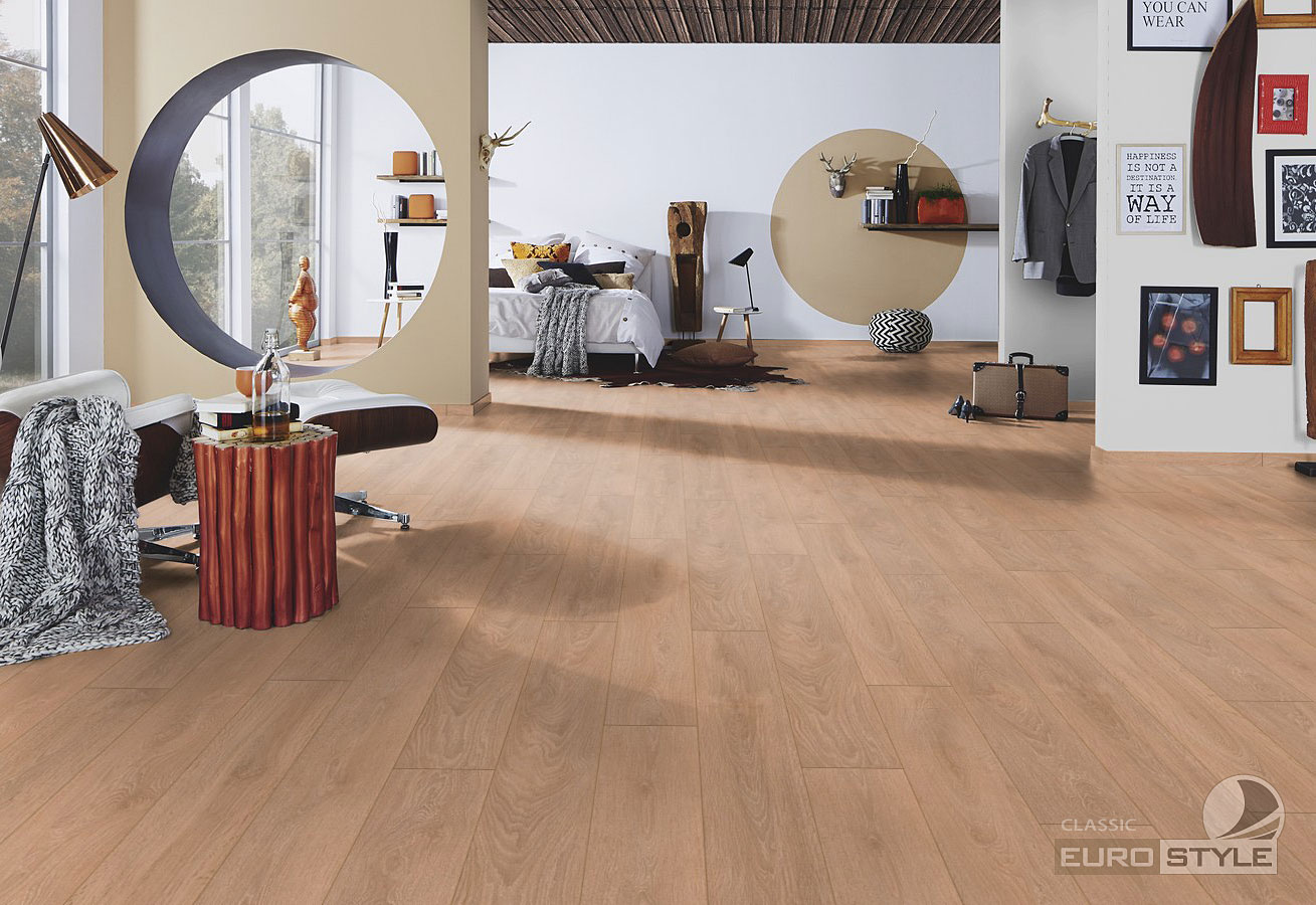 classic laminate floors - light brushed oak – eurostyle flooring