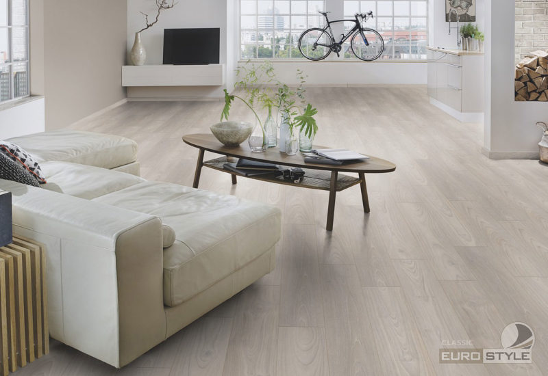 EUROSTYLE Oyster Teak Classic Laminate Flooring