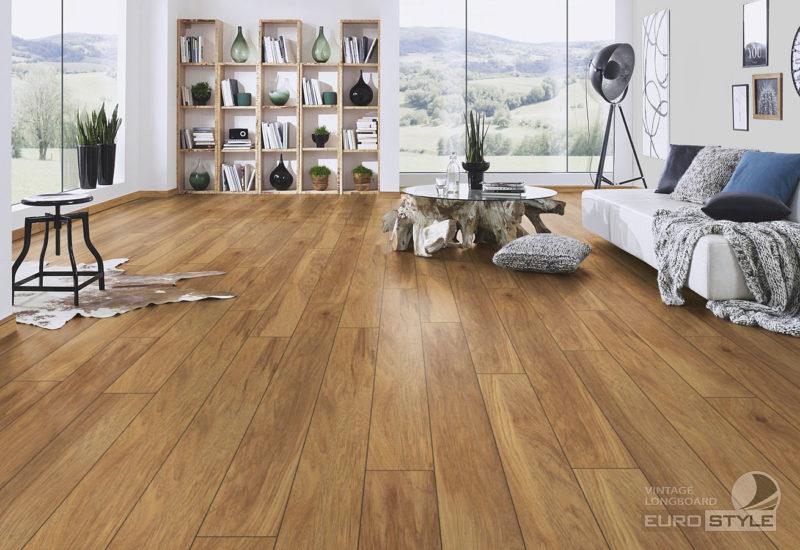 EUROSTYLE Penfold Hickory Vintage Longboard Laminate Flooring