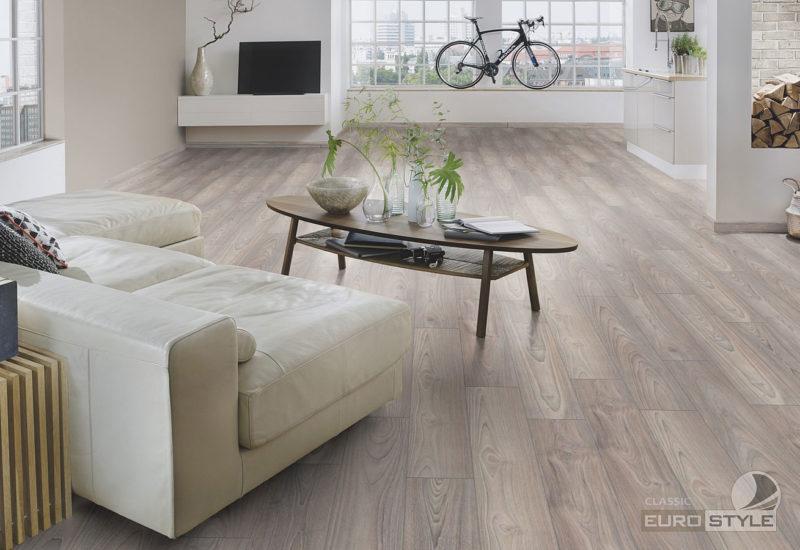 EUROSTYLE Sterling Teak Classic Laminate Flooring