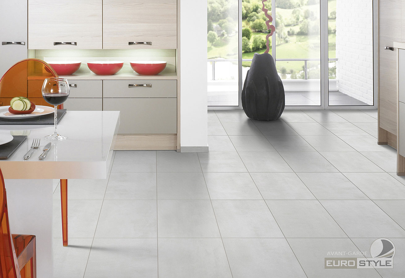 Luxury vinyl floor tiles